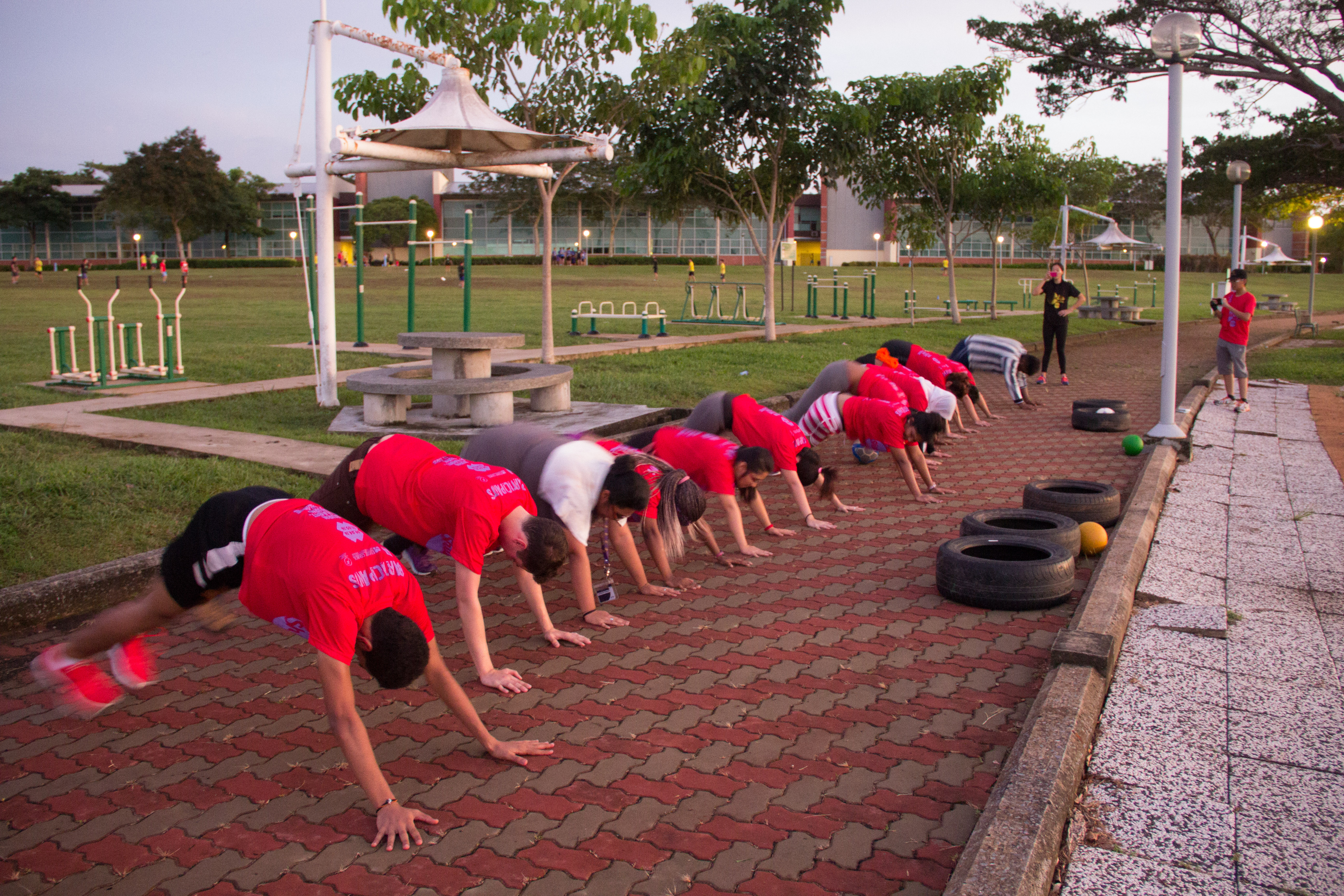 ISA Shape-Up Boot Camp Part 2 – 21 May 2016