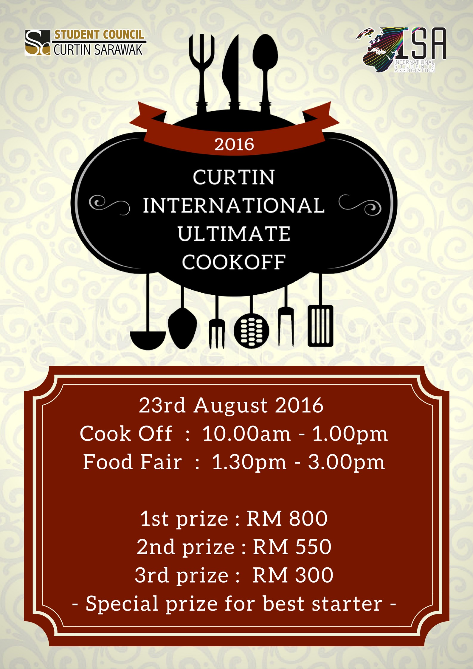 Curtin International Ultimate Cook Off 2016