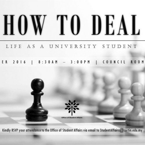 How to Deal: Life as a University Student