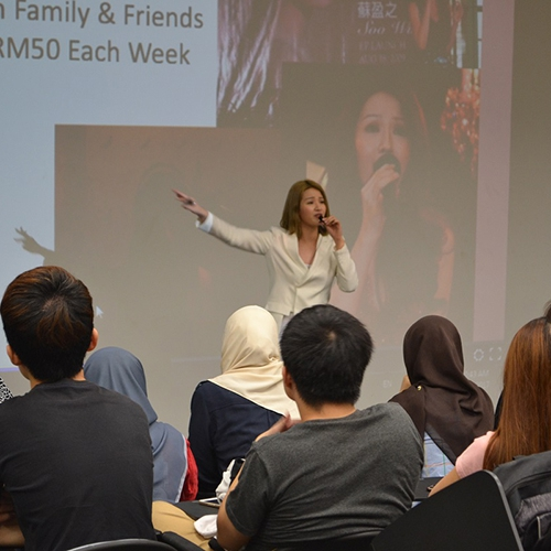 Curtin Malaysia students inspired by Inwinccible-X Tour