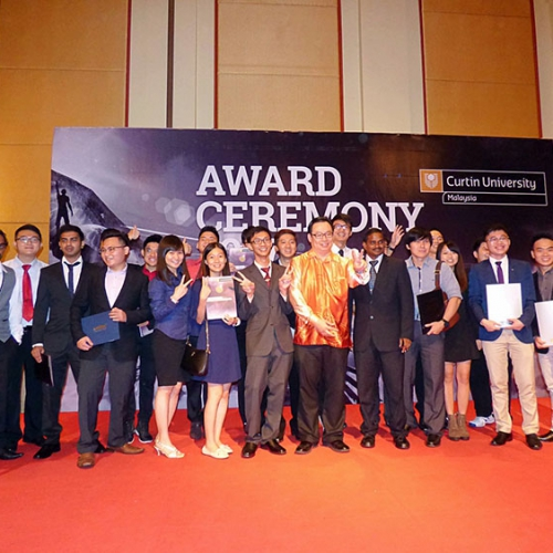 Curtin Malaysia ECE students and graduates receive industry awards