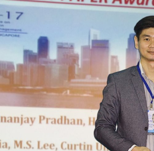 Curtin Malaysia PhD student Lee Mok Siang wins Young Researcher Award