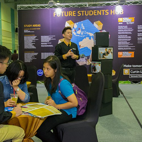 Future students can learn more about Curtin Malaysia on its Open Day