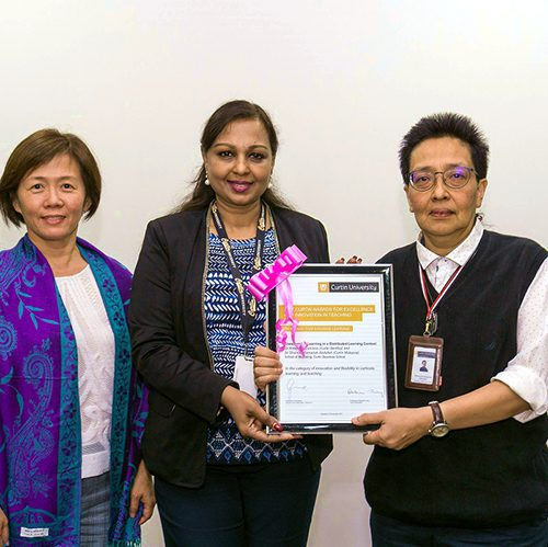 Curtin Malaysia lecturer conferred teaching excellence award for innovative use of distributed learning