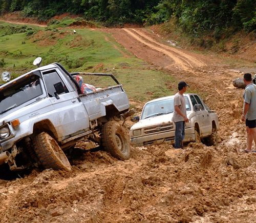 Curtin Malaysia innovating solution to muddy rural road