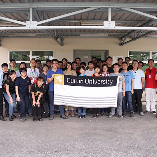 Curtin engineering students learn about Kuching's iconic engineering projects