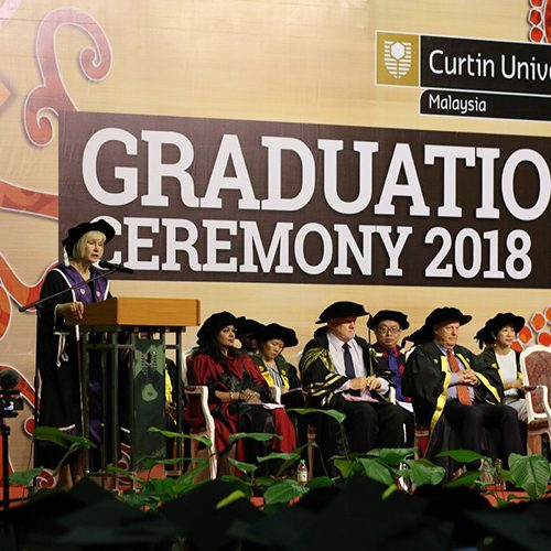 Vice-Chancellor urges Curtin Malaysia graduates to rise to the occasion
