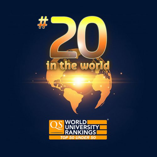 Curtin Malaysia jubilant at Curtin's very impressive 20th place globally in QS Top 50 Under 50