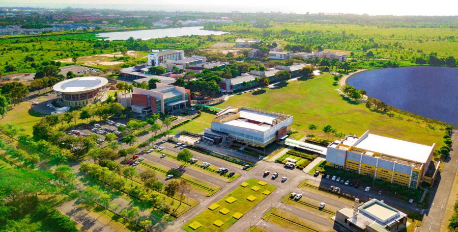 Curtin Malaysia Campus Aerial View